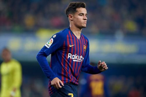 Philippe Coutinho has responded to transfer rumours by saying he is happy at Barcelona