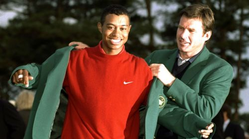 Tiger Woods Nick Faldo - cropped