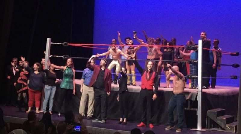 The cast of CPW
