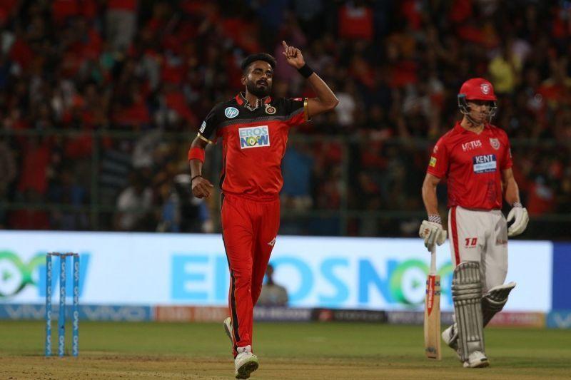 Kulwant Khejroliya won the IPL title with Mumbai Indians in 2017 (Image Courtesy - BCCI/IPLT20)