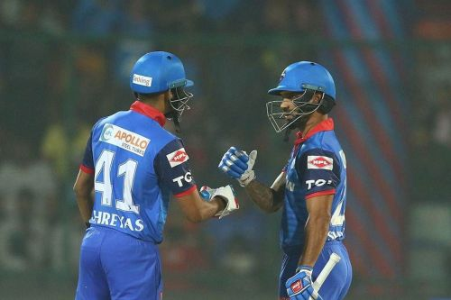 solid partnership between Shikhar Dhawan and Shreyas Iyer