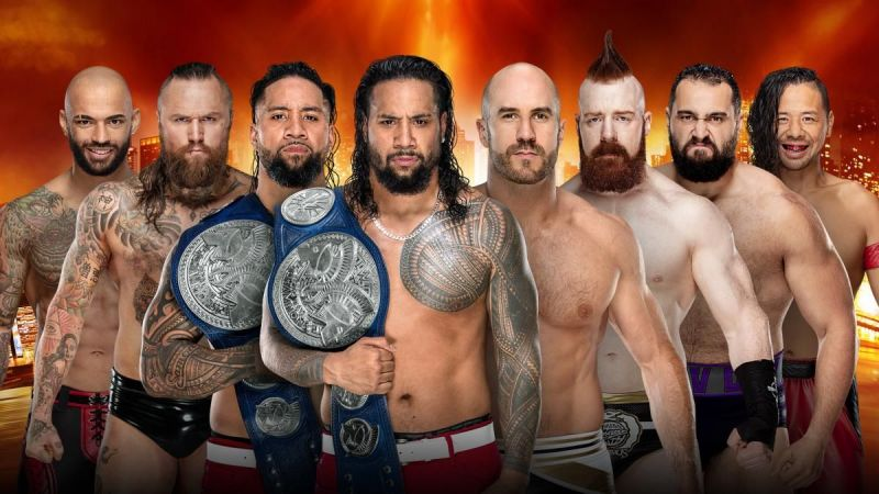 WrestleMania 35: WWE SmackDown Live Tag Team Title Match