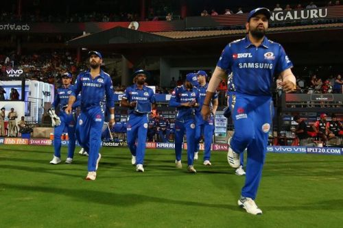 Mumbai Indians will be gunning for their third victory in this year's IPL against Sunrisers Hyderabad (Image Courtesy: IPLT20/BCCI)