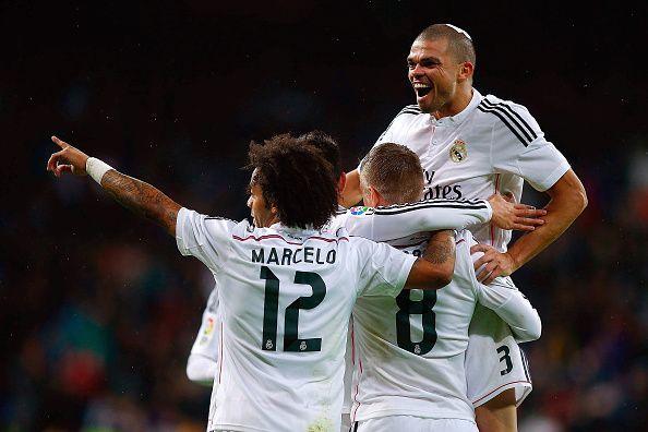 Pepe won three UEFA Champions League titles with Real Madrid