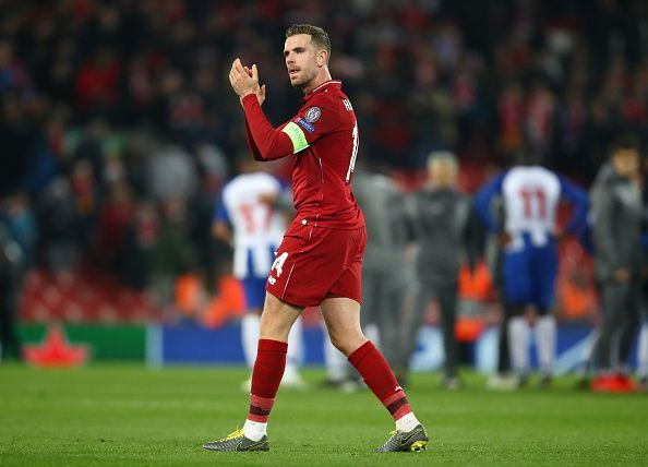 He pulled the strings in the midfield for Liverpool