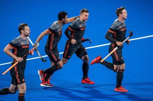 Van der Weeden scores a brace to help Holland beat Germany