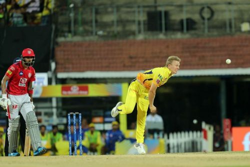 Scott Kuggeleijn was impressive in his first 2 matches for CSK (Image Courtesy: IPL T20.com/BCCI)