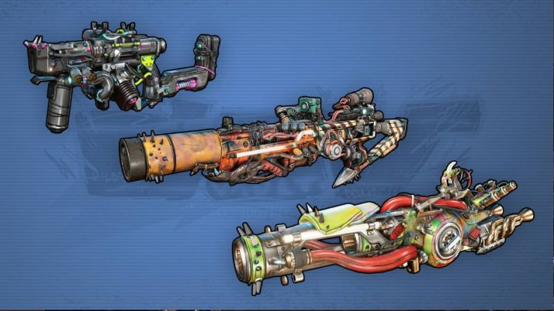 Borderlands 3 Manufacturers: New Children of The Vault