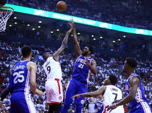 Philadelphia 76ers v Toronto Raptors - Game One
