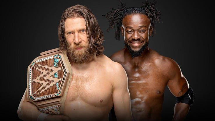 Kofi Kingston and Daniel Bryan compete in WrestleMania 35