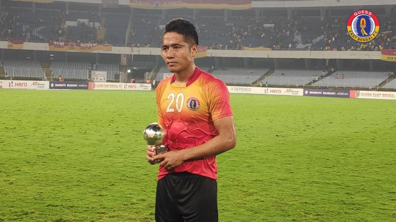 Lalrindika Ralte signed a new contract with East Bengal (Image: QEB FB Page)