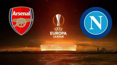 Arsenal will face SSC Napoli on Thursday night in the Europa League quarterfinals