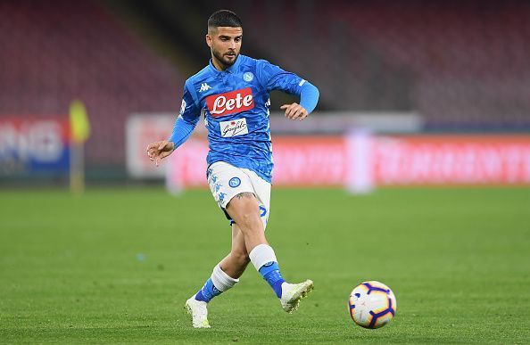 Insigne has been regularly linked with a move to Manchester United