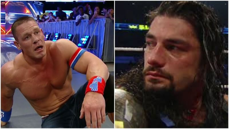 The past and the present Poster Boy of WWE!