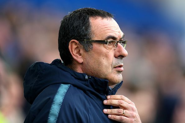 Maurizio Sarri has made some questionable choices this season with Chelsea FC.