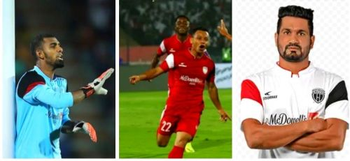 Northeast United FC fans might no longer see these players don their jersey