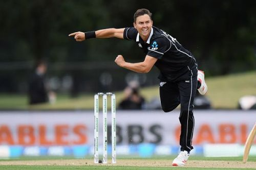 Trent Boult will be New Zealand's key bowler at the World Cup, offering extreme pace from a left arm angle.