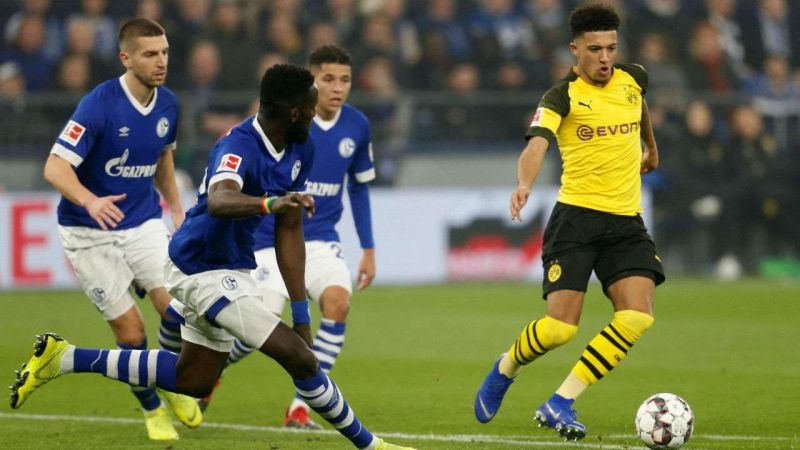 Dortmund and Schalke have gone down different roads this season