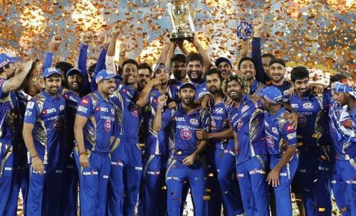 Mumbai Indians won three titles between 2013 - 2017