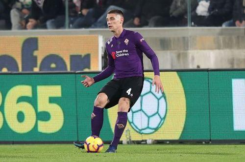 Milenkovic's progress at Fiorentina has caught the eye of Europe's elite clubs.