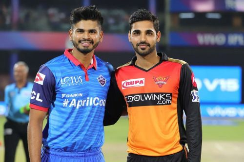 Delhi Capitals vs Sunrisers Hyderabad (Source - iplt20/BCCI)