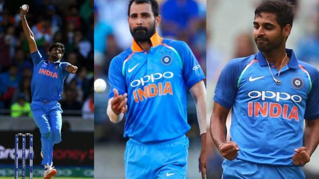 The pace bowling trio