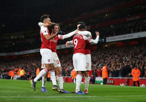 Arsenal now sit in third