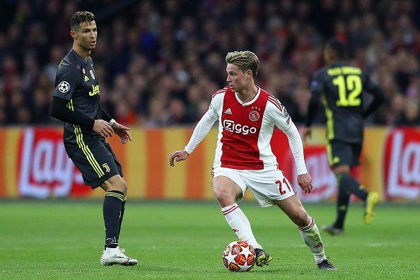 Frenkie de Jong has pulled the strings in Ajax midfield.