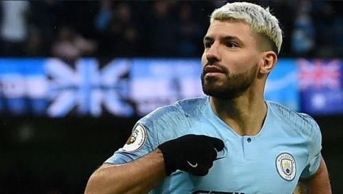 On Saturday, Aguero acted as the playmaker