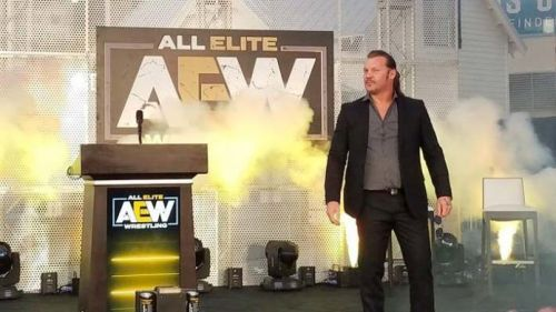 Chris Jericho is with AEW now