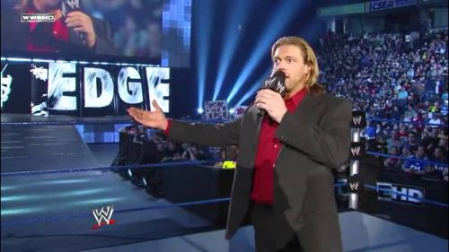 After an incredible career and even World titles, Edge was forced to retire due to injuries in early 2011.