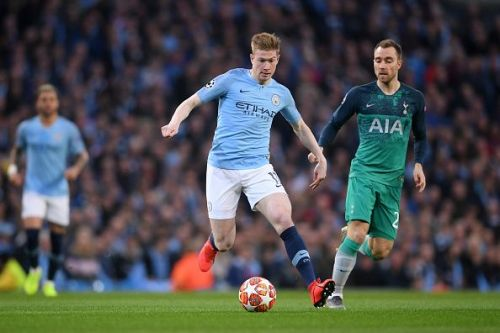 Kevin De Bruyne and Christian Eriksen