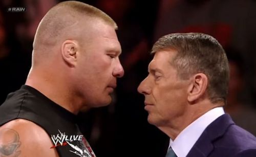 Could Brock Lesnar be headed to the blue brand?