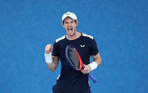 Britain's Andy Murray at the 2019 Australian Open