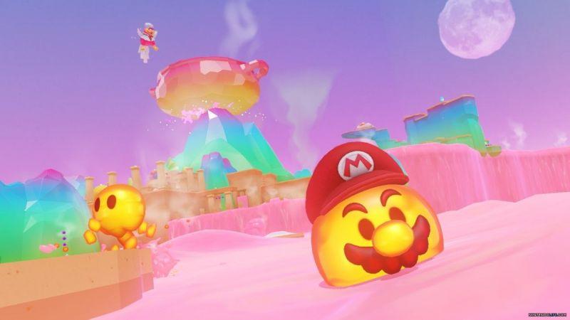 Mario needs to collect Power moons hidden across different Kingdoms.