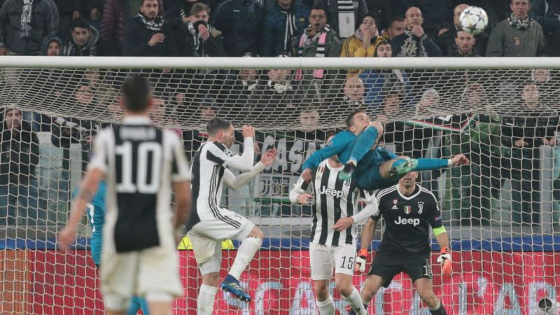 b9b355e10 Ronaldo 600  Cristiano s 10 finest goals for Manchester United
