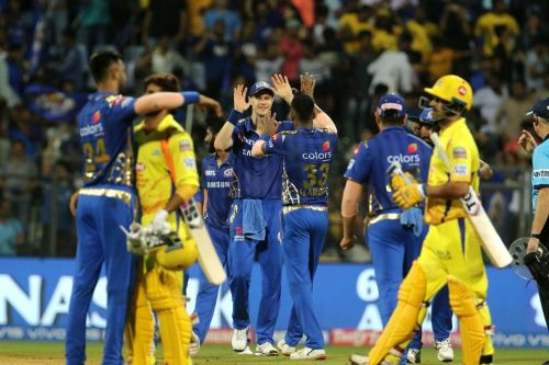 Mumbai Indians had defeated Chennai Super Kings twice in the league stage (Image courtesy - IPLT20/BCCI)