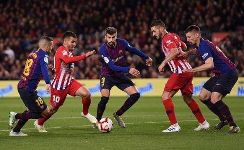 FC Barcelona v Club Atletico de Madrid - La Liga