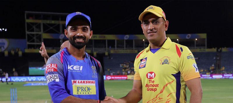 राजस्थान और चेन्नई के कप्तान