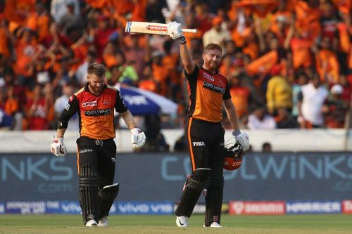 Warner and Bairstow (Image courtesy:iplt20.com)
