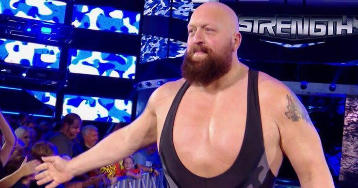 Big Show has a towering personality