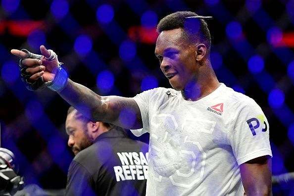 Can Adesanya claim the Middleweight interim title?