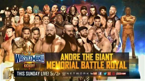 Andre 'the Giant' Memorial Battle Royal
