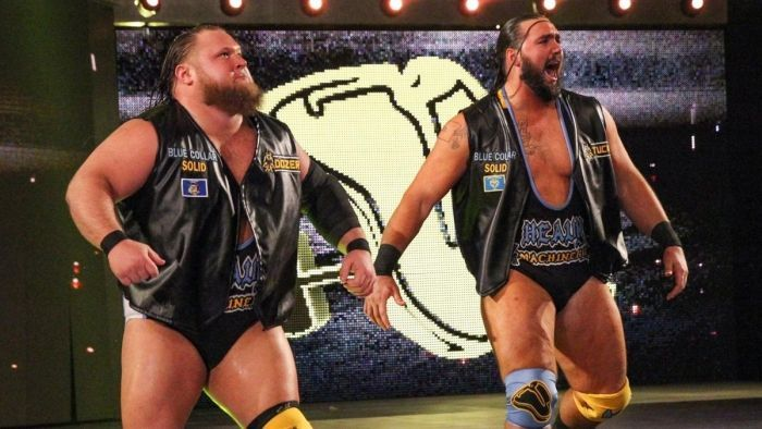 Heavy Machinery could become the new tag team champions