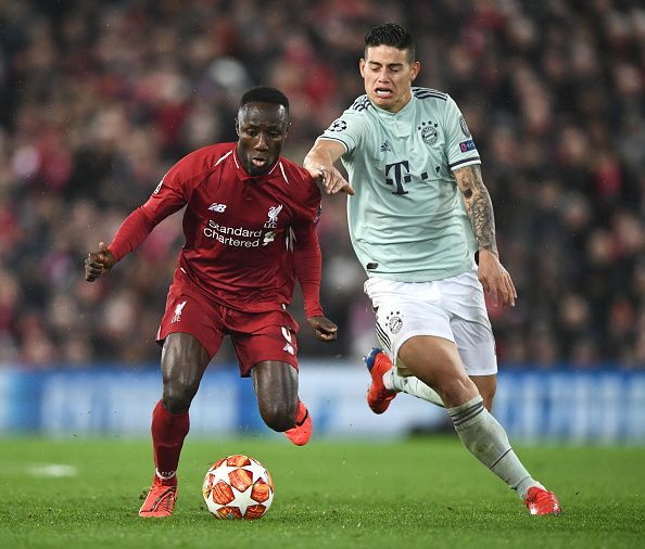 Liverpool v FC Bayern Muenchen - UEFA Champions League Round of 16: First Leg