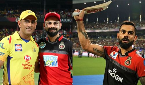 It's Virat Kohli vs MS Dhoni on Sunday at the Chinnaswamy!
