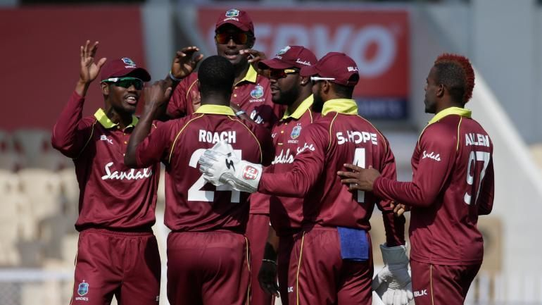 Windies name their fifteen-member squad