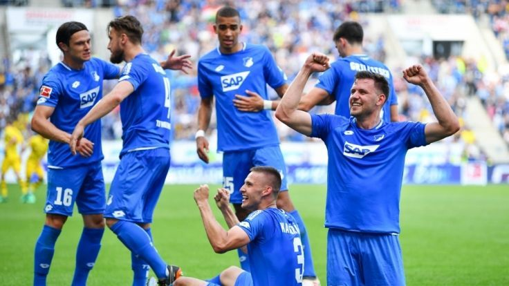 Hoffenheim may drop out of top four for the first time in three years