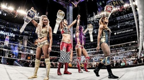 The Four Horsewomen could open the show.