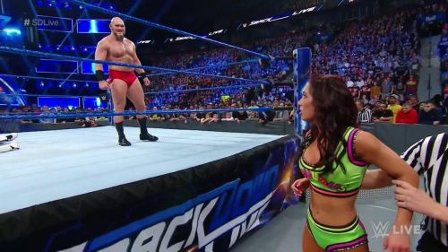 Lars Sullivan made his impact on WWE SmackDown Live